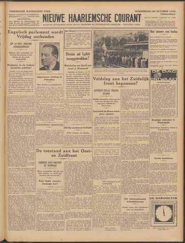 Nieuwe Haarlemsche Courant 1935-10-24