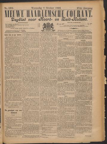Nieuwe Haarlemsche Courant 1902-10-08