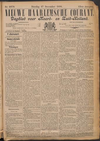 Nieuwe Haarlemsche Courant 1898-12-27