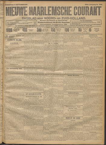 Nieuwe Haarlemsche Courant 1911-09-14