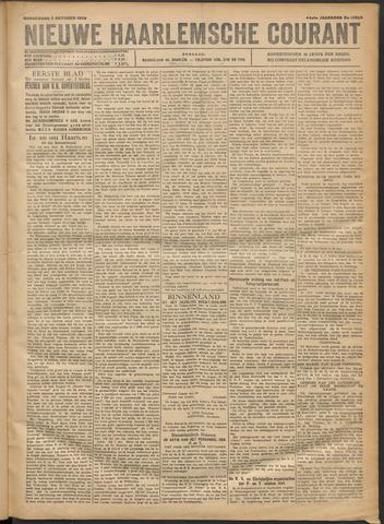 Nieuwe Haarlemsche Courant 1920-10-07