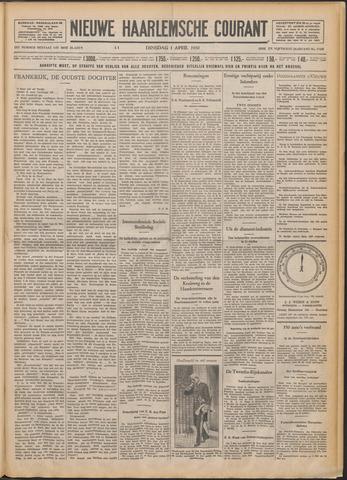 Nieuwe Haarlemsche Courant 1930-04-01