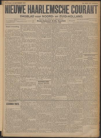 Nieuwe Haarlemsche Courant 1907-09-30