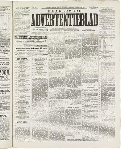Haarlemsch Advertentieblad 1882-11-01
