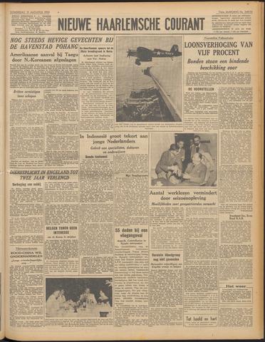 Nieuwe Haarlemsche Courant 1950-08-31
