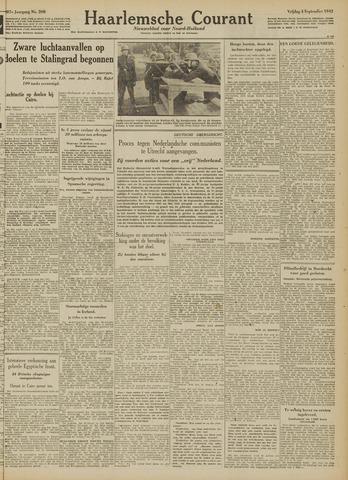 Haarlemsche Courant 1942-09-04