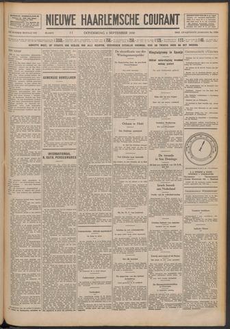 Nieuwe Haarlemsche Courant 1930-09-04