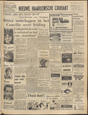 Nieuwe Haarlemsche Courant 1964-11-20