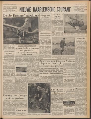 Nieuwe Haarlemsche Courant 1953-09-26