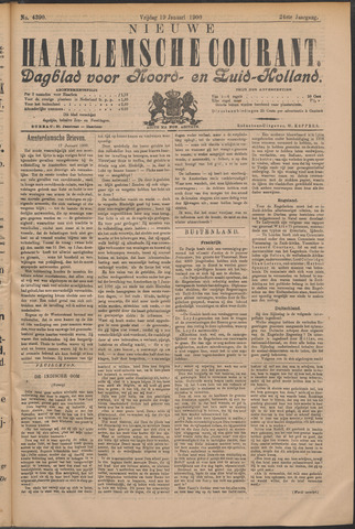 Nieuwe Haarlemsche Courant 1900-01-19