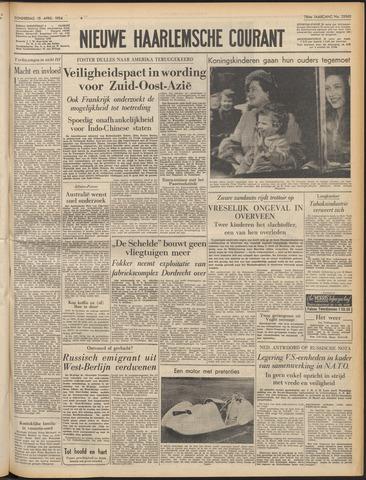 Nieuwe Haarlemsche Courant 1954-04-15