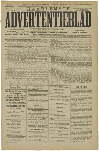 Haarlemsch Advertentieblad 1900-08-25