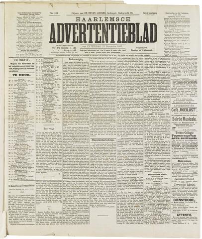 Haarlemsch Advertentieblad 1882-12-23