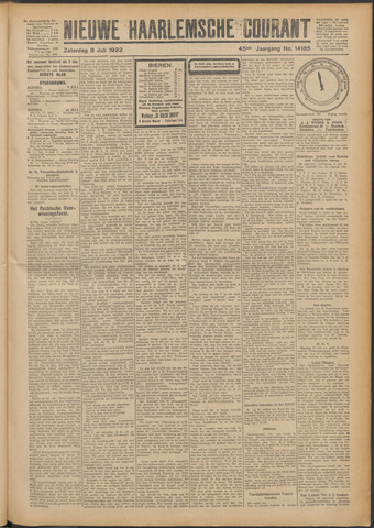 Nieuwe Haarlemsche Courant 1922-07-08