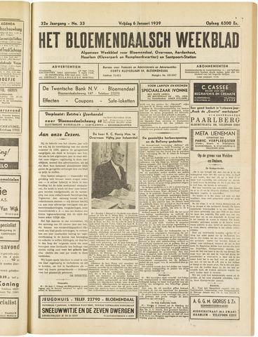 Het Bloemendaalsch Weekblad 1939