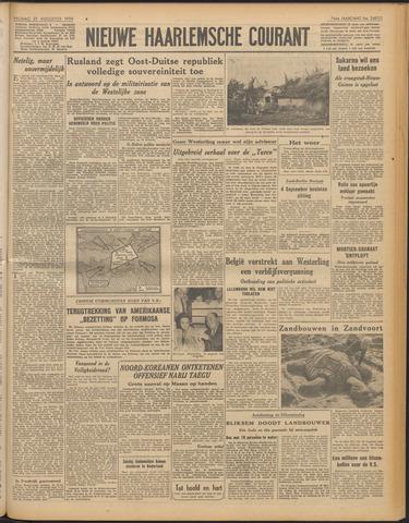 Nieuwe Haarlemsche Courant 1950-08-25