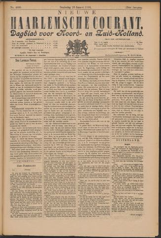 Nieuwe Haarlemsche Courant 1899-01-26