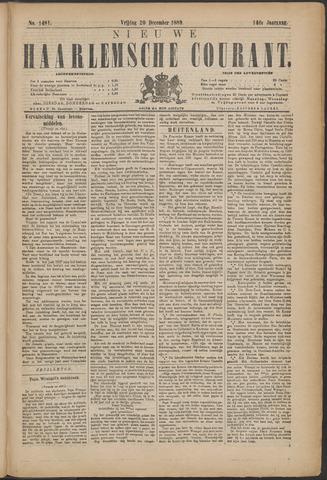 Nieuwe Haarlemsche Courant 1889-12-20