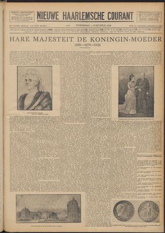 Nieuwe Haarlemsche Courant 1928-08-01
