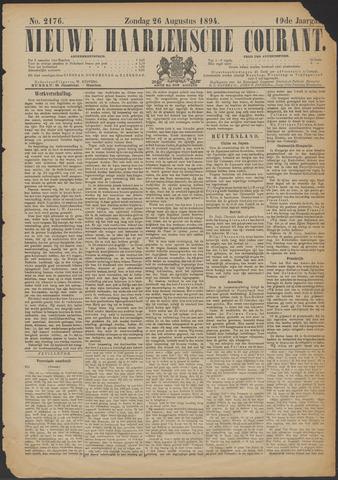 Nieuwe Haarlemsche Courant 1894-08-26