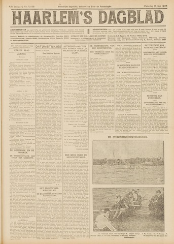 Haarlem's Dagblad 1926-05-15