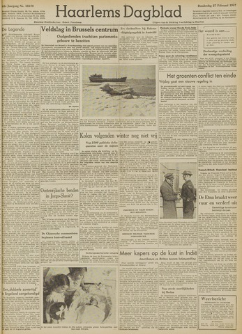 Haarlem's Dagblad 1947-02-27