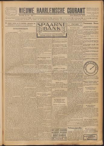 Nieuwe Haarlemsche Courant 1927-11-26