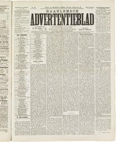 Haarlemsch Advertentieblad 1882-06-21