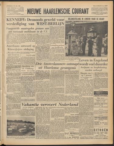 Nieuwe Haarlemsche Courant 1961-07-26