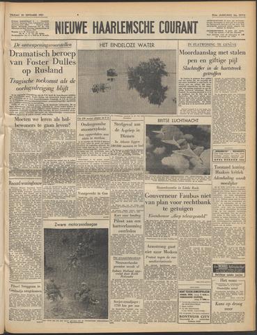 Nieuwe Haarlemsche Courant 1957-09-20