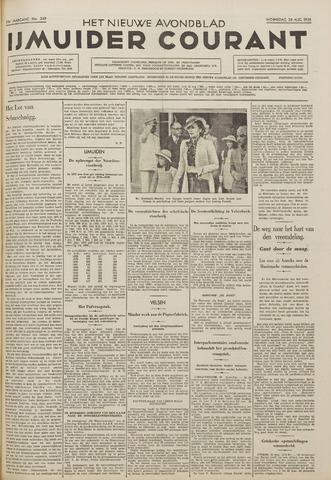 IJmuider Courant 1938-08-24