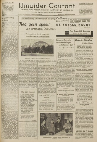 IJmuider Courant 1939-10-05