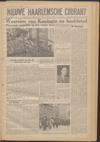 Nieuwe Haarlemsche Courant 1945-06-29