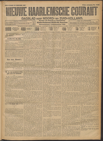 Nieuwe Haarlemsche Courant 1913-02-13