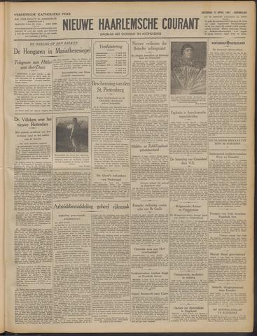 Nieuwe Haarlemsche Courant 1941-04-12