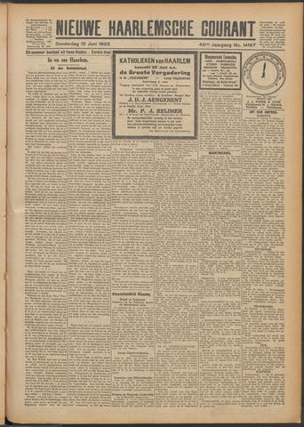 Nieuwe Haarlemsche Courant 1922-06-15