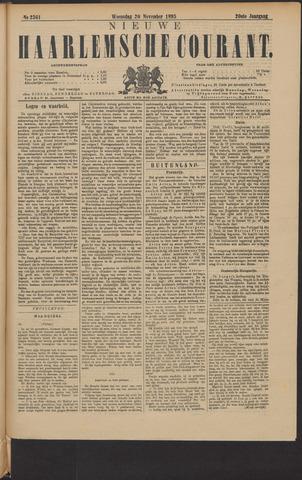 Nieuwe Haarlemsche Courant 1895-11-20