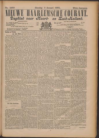 Nieuwe Haarlemsche Courant 1905-01-03