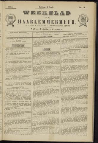 Weekblad van Haarlemmermeer 1884-04-04