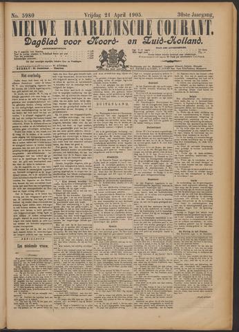 Nieuwe Haarlemsche Courant 1905-04-21