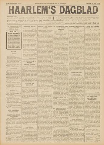 Haarlem's Dagblad 1926-06-26
