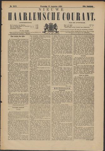 Nieuwe Haarlemsche Courant 1894-08-15