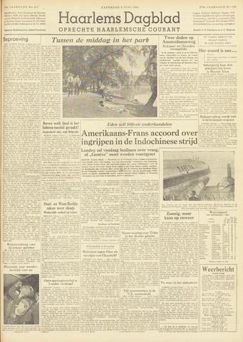 Haarlem's Dagblad 1954-06-05