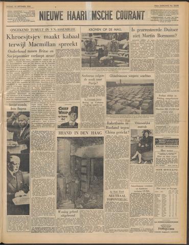 Nieuwe Haarlemsche Courant 1960-09-30