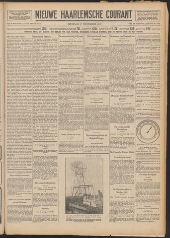Nieuwe Haarlemsche Courant 1931-11-17