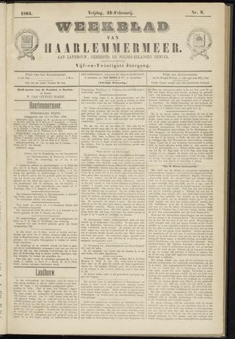 Weekblad van Haarlemmermeer 1884-02-22