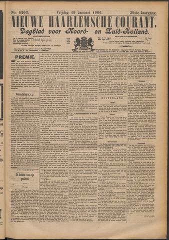 Nieuwe Haarlemsche Courant 1906-01-19
