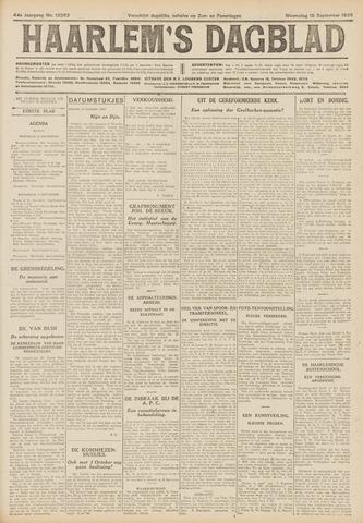 Haarlem's Dagblad 1926-09-15