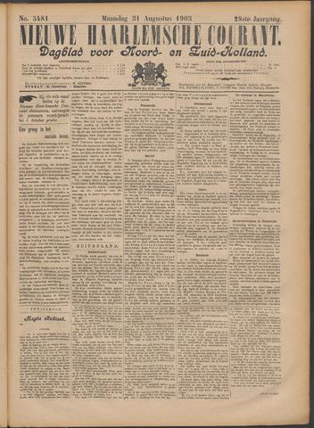 Nieuwe Haarlemsche Courant 1903-08-31