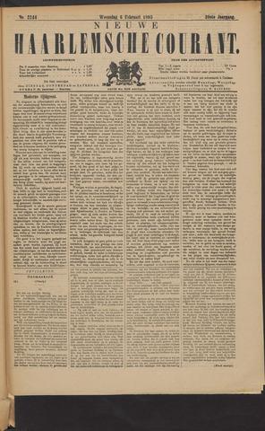 Nieuwe Haarlemsche Courant 1895-02-06